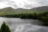 The View from Kylemore Abbey